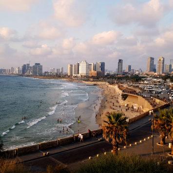 Plaja, mare, soare – Tel Aviv