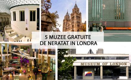 5 muzee gratuite de neratat in Londra