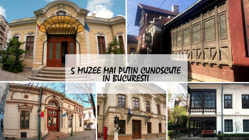 5 muzee mai putin cunoscute in Bucuresti